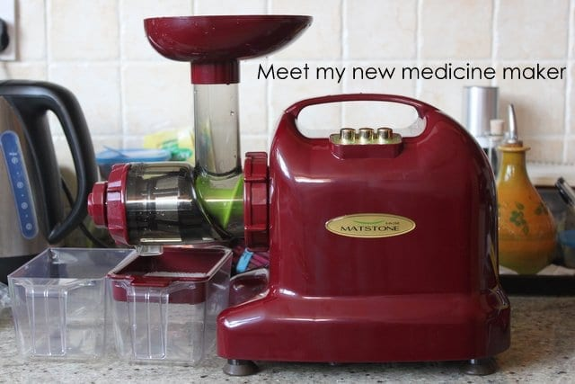 amandacook.me Meet my new medicine maker matstone juicer
