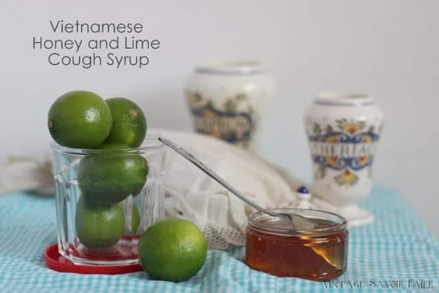 Honey and Lime Cough Syrup