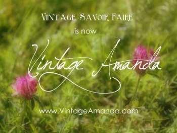 Vintage Savoir Faire has a new name!