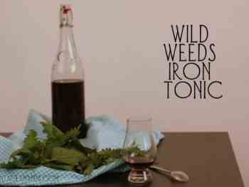 Wild Weeds Iron Tonic