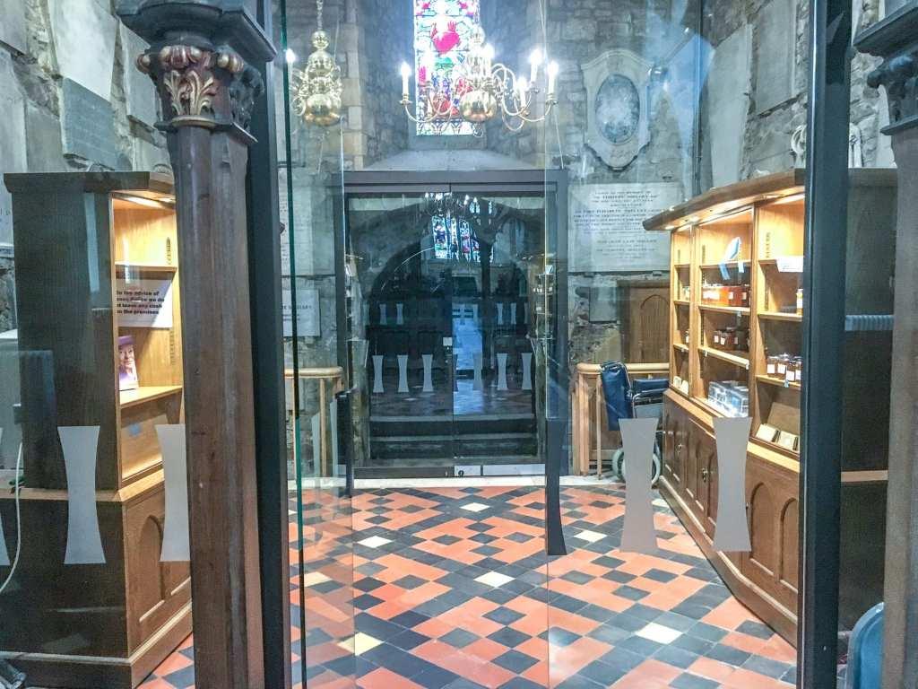 Oldest Part of St Mary's Church Horsham