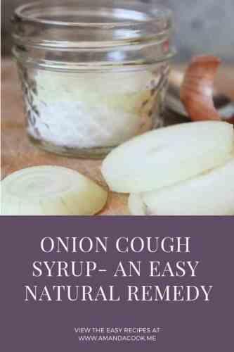 Onion Cough Syrup | Wellpreneur