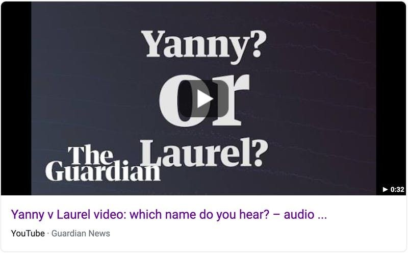 what name did you hear