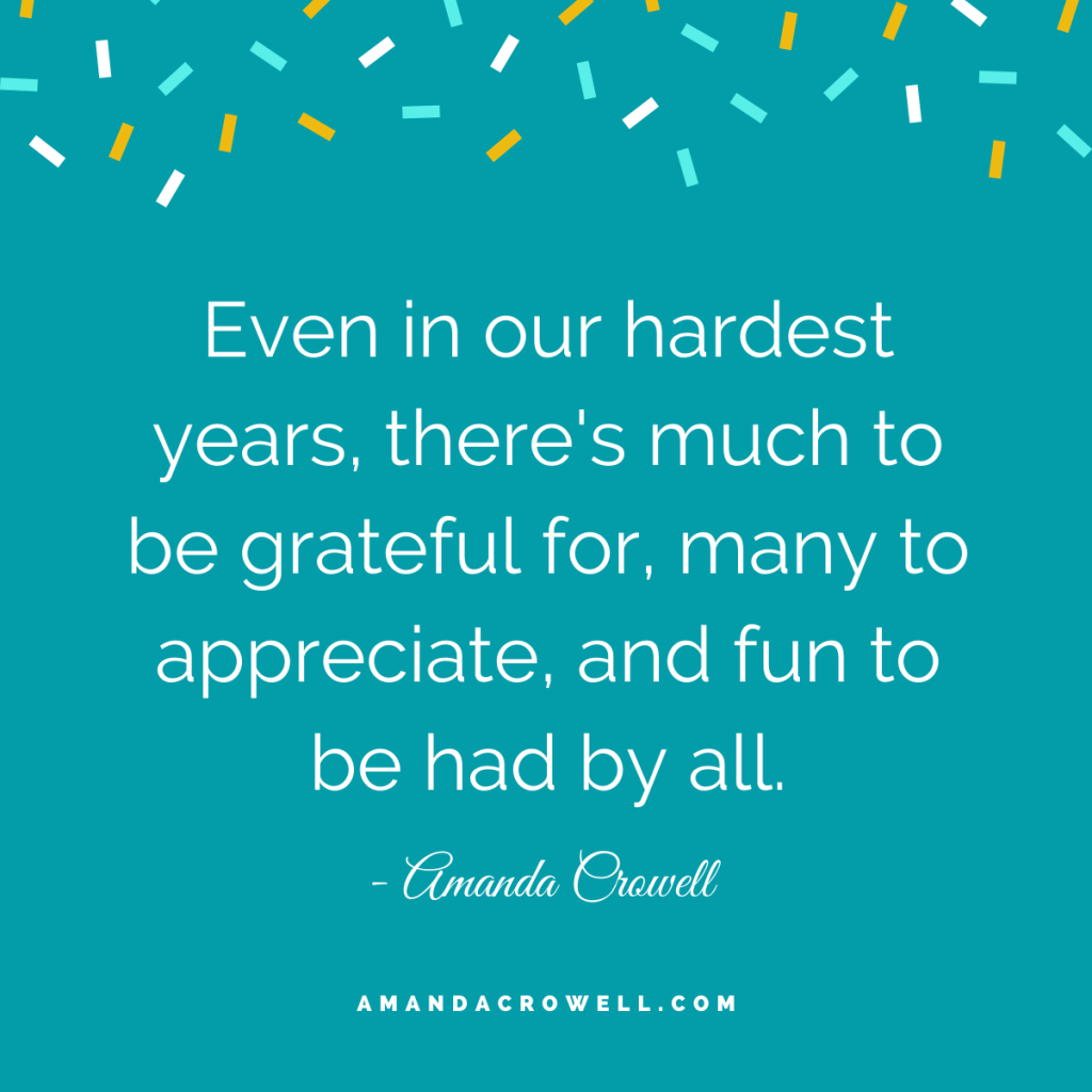 There is much to be grateful for.