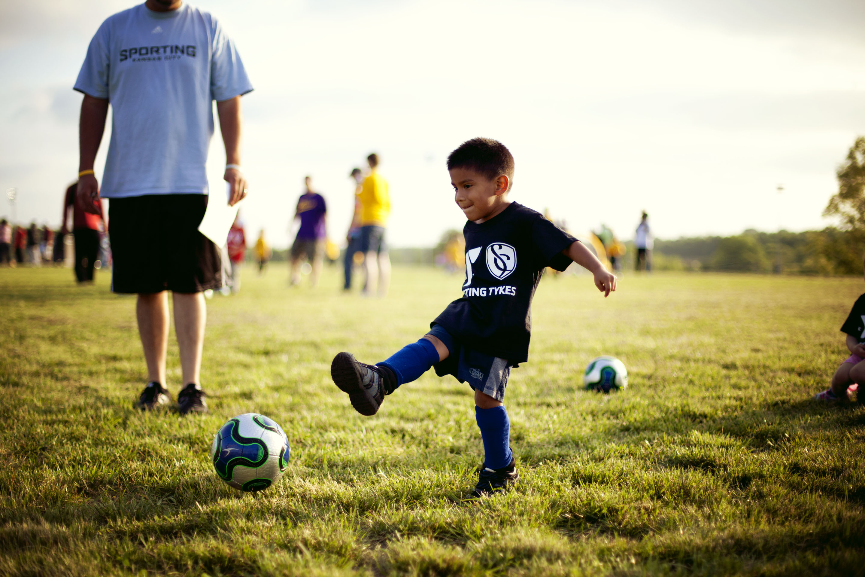 A Love For Sports Kansas City Children Photographer