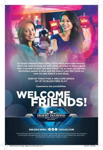 Welcome Friends Ad