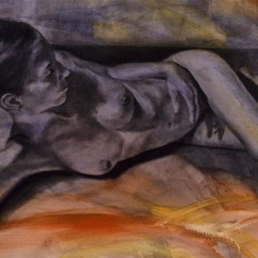 amanda_feher_painting_figurative_charcoal_at_peace
