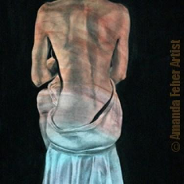 amanda_feher_painting_figurative_charcoal_pastel_Quiet Resolve