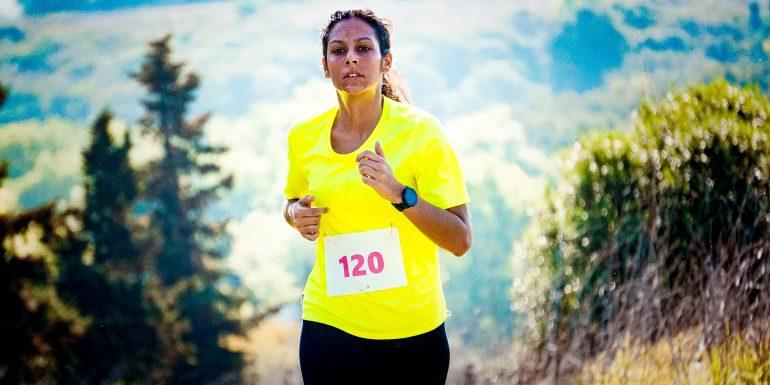 Lady runner