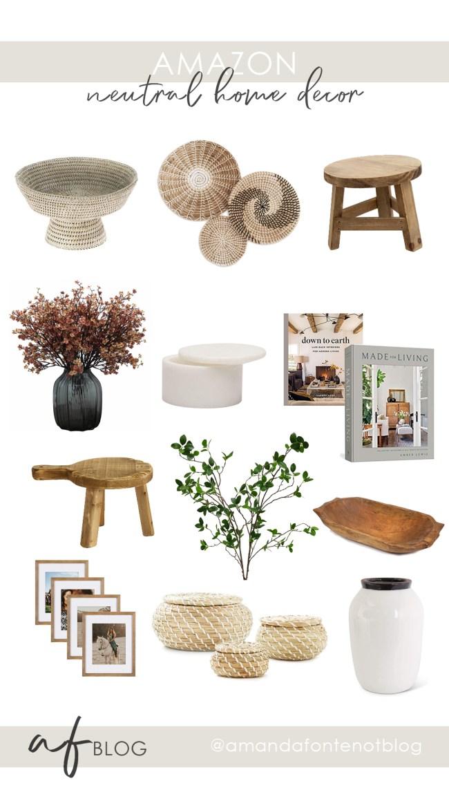 Neutrale Wohnkultur |  Amazon |  Amanda Fontenot-Blog