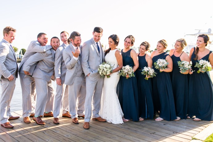 Good Day Sunshine Nags Head : Wedding photographer for cheerful couples small