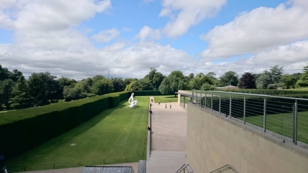 View from the Terrace at the Yorkshire Sculpture Park