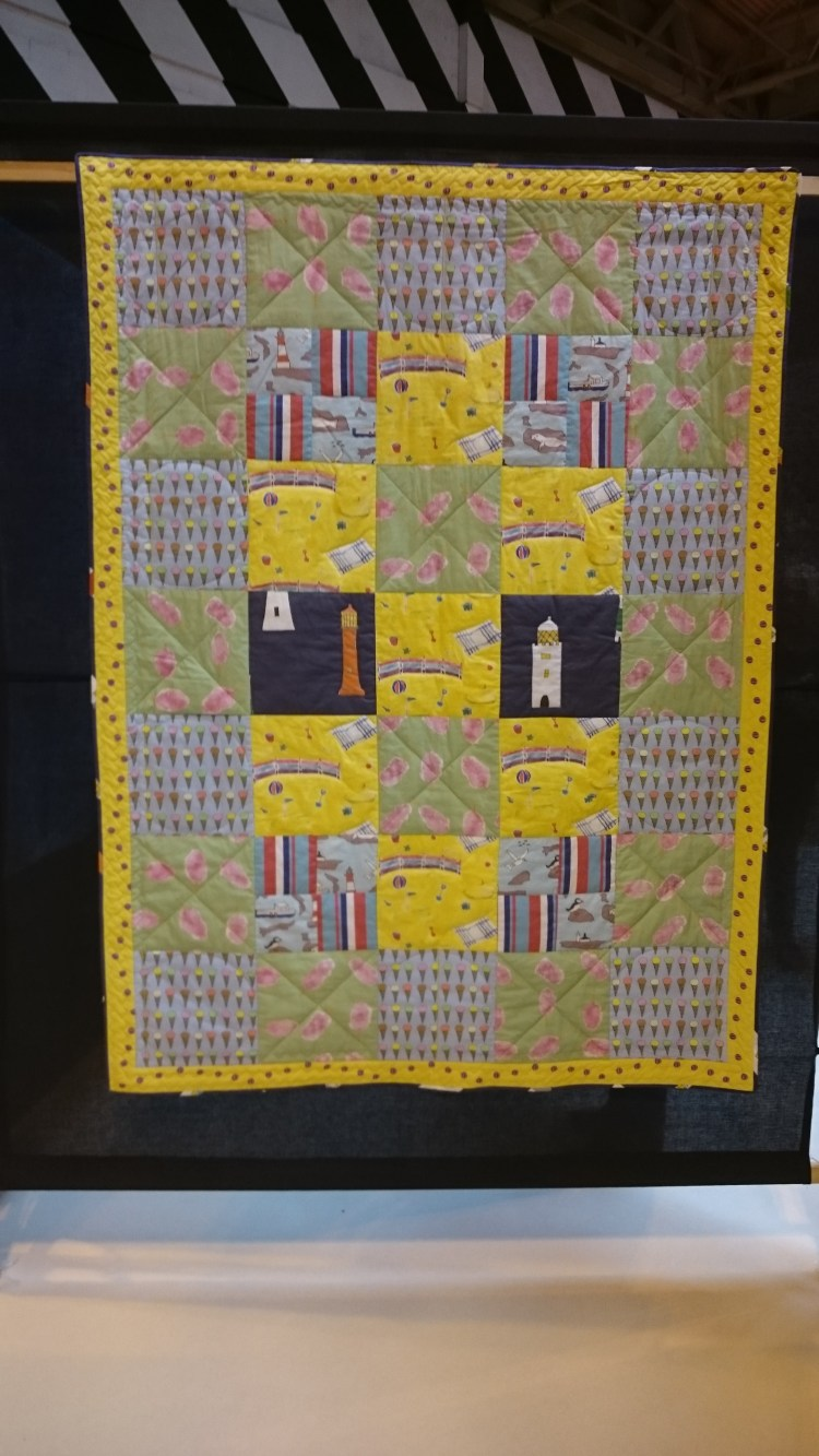 'Happy Holidays' Festival of Quilts 2016