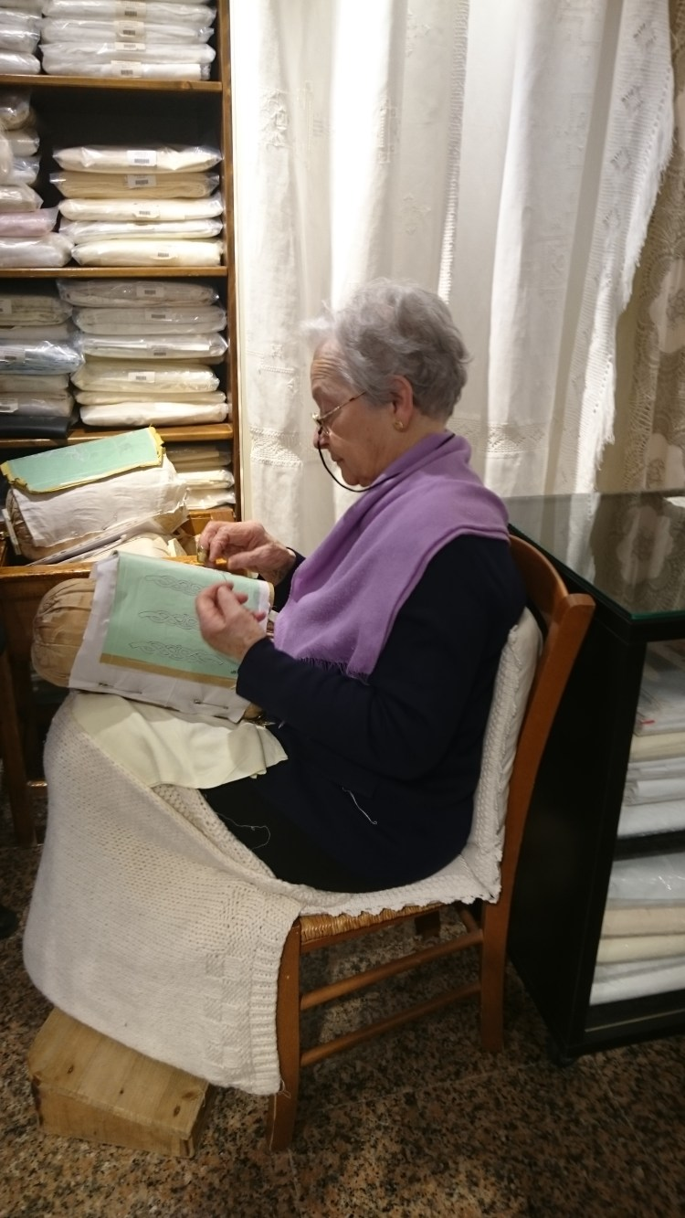 lace-maker on Burano, Italy.JPG