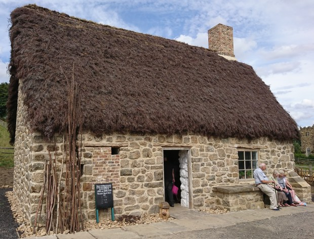 Joe the Quilter's cottage, external