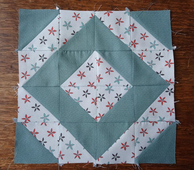 Make a quilt in a year - July