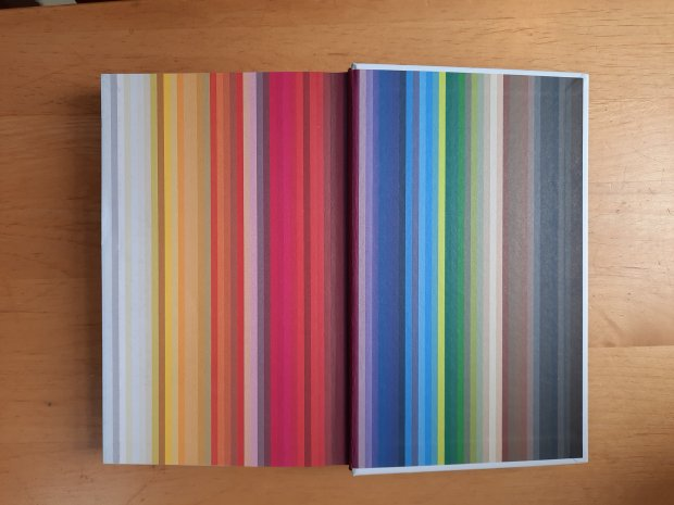 Pages from 'The Endpapers from 'The Secret Lives of Colour' by Kassia St Clair