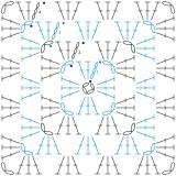 Crochet chart template