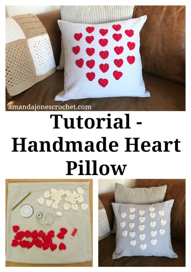 Tutorial - Handmade Heart Pillow