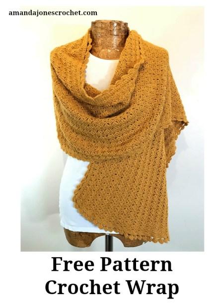 Crochet Wrap Free Pattern