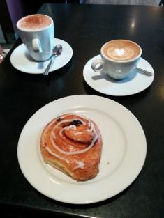 Great breakfast in Auckland