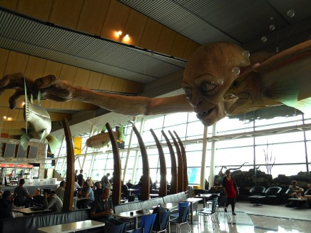Lord of the Rings at Wellington airport