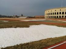 A bit of snow!