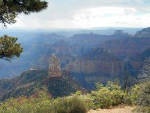 View from Imperial Point, North Rim Grand Canyon.