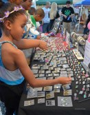 Visitors of all ages are able to enjoy the temporary shop spaces set up along Roosevelt Row.