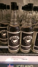Brennivin - the local drink