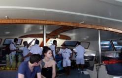 Our catamaran crew