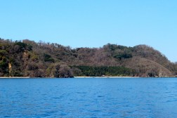First glimpse of Isla Tortuga