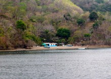 Secluded communities on islands on way back to Puntarenas