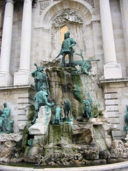 Matthias Fountain, Buda Castle