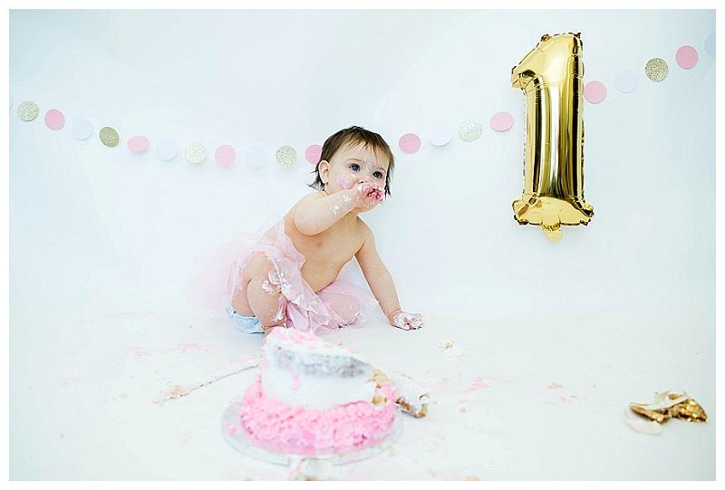 Orange County, NY/Aubrey's First Birthday [Cake Smash]