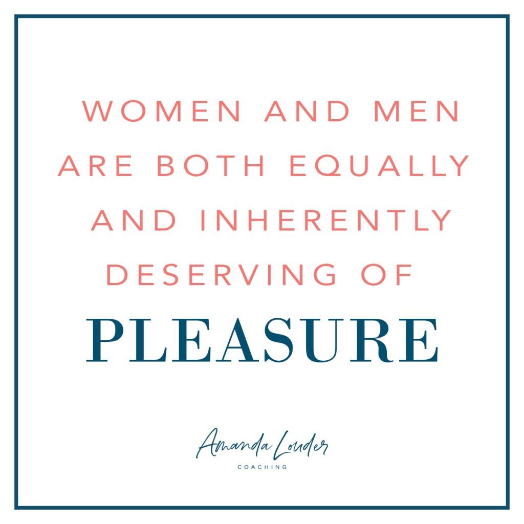 Entitled to Pleasure