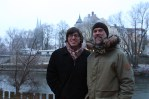 Dave and Gerhard by the Danube.