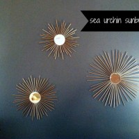 CREATE  |  DIY Sea Urchin Wall Starburst