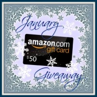 January Giveaway: $50 Amazon Gift Card!