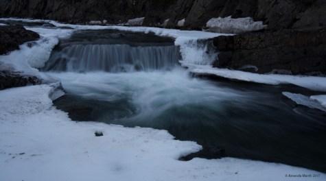 Skagaströnd's version of Dight's Falls