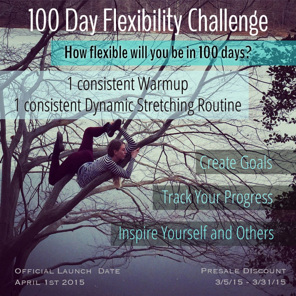 Introducing The 100 Day Flexibility Challenge