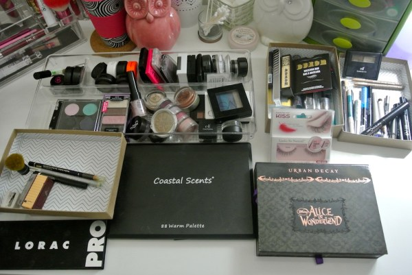 eye products decluttering