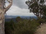 On the way down from Mt Buffalo