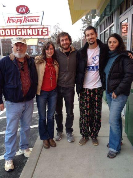 Washington, D.C. Crew at Krispy Kreme