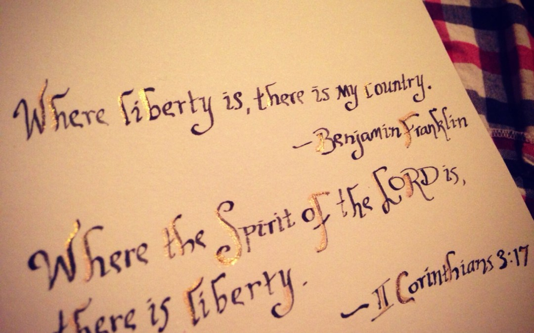 How to find liberty…