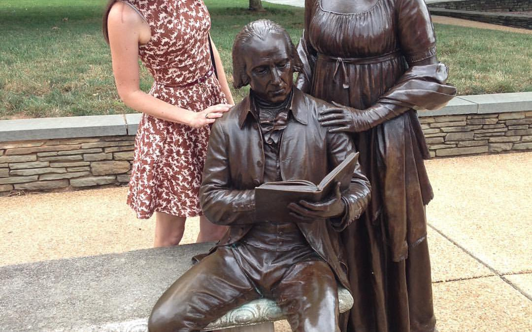 Visiting with James and Dolley Madison