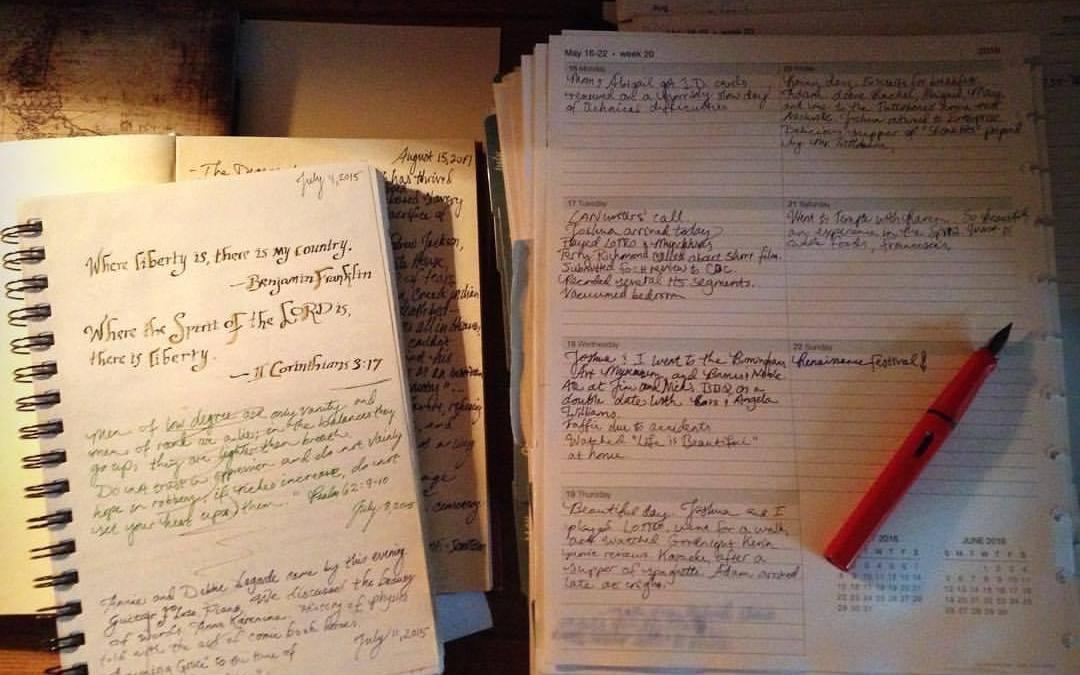 Journaling Jeffersonian Style