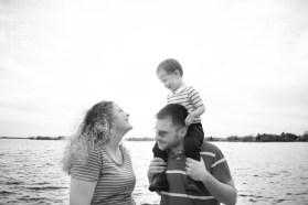 family smile shot b&w (1 of 1)