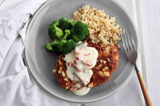 almond chicken, almond chicken recipe, la bistro almond chicken