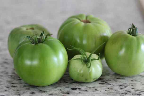FRIED GREEN TOMATO RECIPE